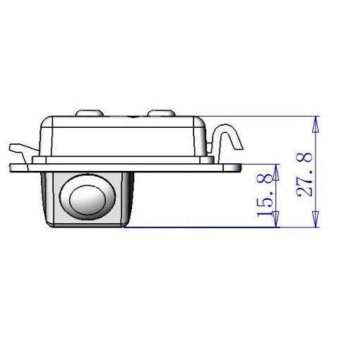 Cámara de visión trasera para Ford Mondeo Ghia X Vista previa  3