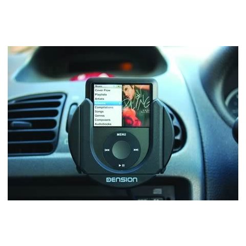 iPod / iPhone 3G Car Active Cradle Dension IP44CR9 Preview 1