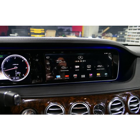 """12.1"""" Capacitive Touch Screen Panel for Mercedes-Benz S Class (W222) Preview 6"""