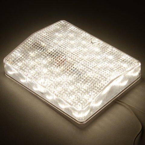LED-світильник, 8 Вт, 220 В, 1000 лм, WW (природний білий), прямокутний Прев'ю 2