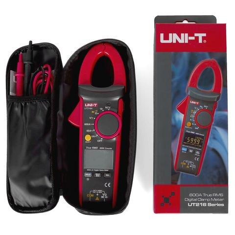 Струмовимірювальні кліщі UNI-T UT216A Прев'ю 4