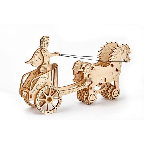 Механический 3D-пазл Wooden.City Римская колесница - /*Photo|product*/