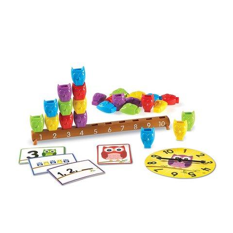 Обучающий игровой набор Learning Resources Совиная линейка Превью 3