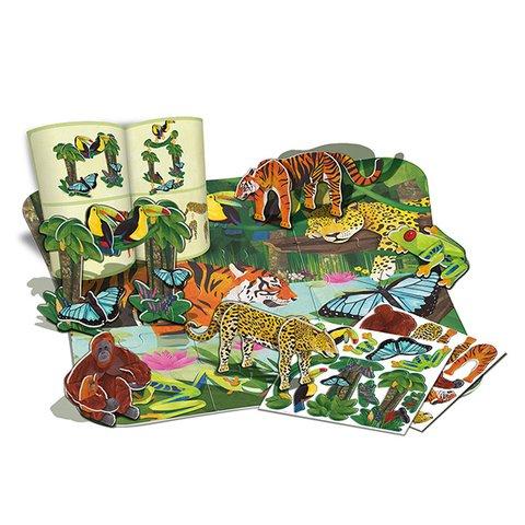 3D-пазл 4M Тропический лес 00-04678 Превью 1