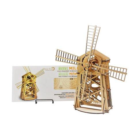 Механический 3D-пазл Wood Trick Мельница - Просмотр 4