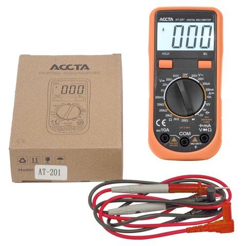 Digital Multimeter Accta AT-201 Preview 5